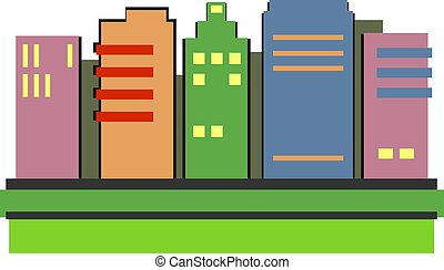 Skyscrapers - Modern style skyscrapers design