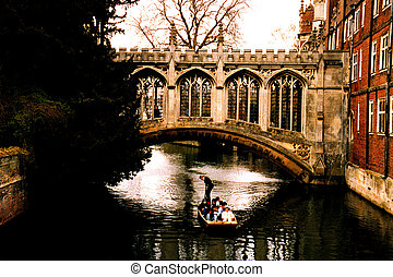 Punting on the Cam - Punting on the river Cam Many punters...