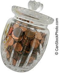 Jar of Pennies (2)