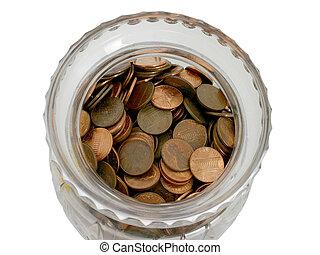 Jar of Pennies (4)