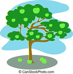 Apple Tree - Apple tree design