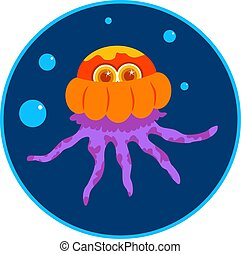 Jellyfish - Cartoon jellyfish design.