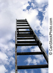 sky's the limit#1 - ladder to success, extention ladder...