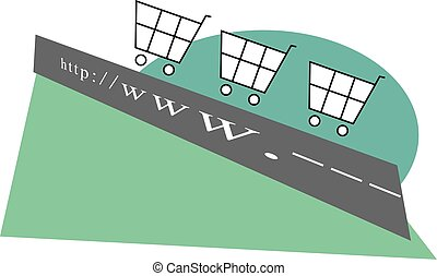 eCommerce on the information superhighway
