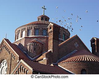 屋頂, 教堂