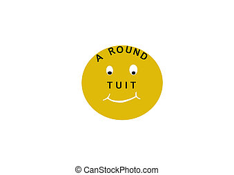Around To It - A symbol for those slackers who always need...