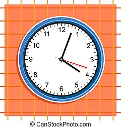 Clock - Analogue clock design.