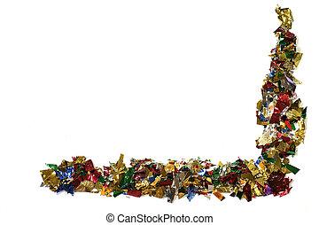 Confetti Border - colorful confetti border