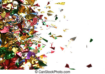 Confetti - room for copy - confetti, shallow DOF, room for...