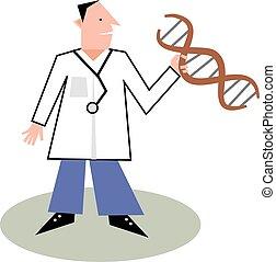 Doctor - Dna doctor design