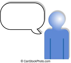 Speak - Add your own text in the speech bubble