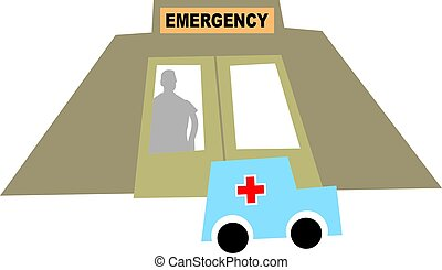 Emergency - Accident and emergency unit