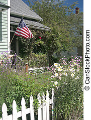All American Porch - norman rockwell looking porch