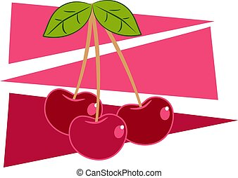 Cherries design
