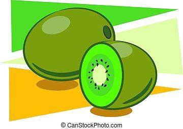 Kiwi Fruit - Kiwi fruit design
