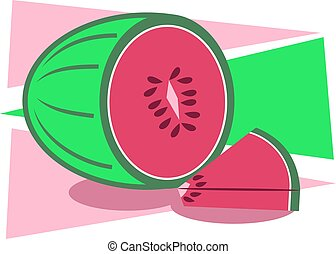 Melon fruit design