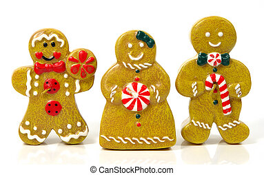 Gingerbread People - Photo of Gingerbread People Candles