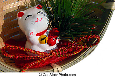 New year decoration - A Japanese new year deoration