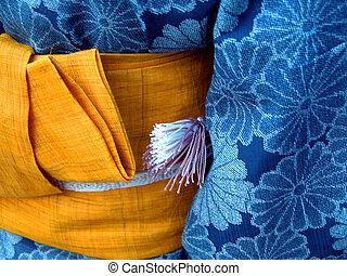 Kimono - Japanese kimono-detail