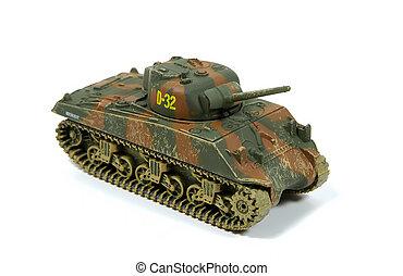 modelo, tanque