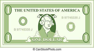 Dollar - American dollar