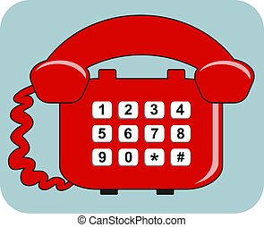 Telephone - Red telephone