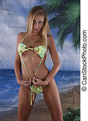 Bikini 1 - woman in bikini