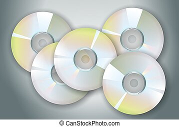 CdRoms - collection of software or music cds