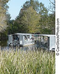 Swamp Entrance 1 - A bayou giving egress to a southern...