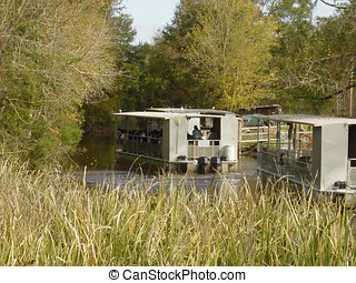 Swamp Entrance 2 - A bayou giving egress to a swamp in...