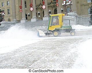 Snow Removal - Daily snow removal in Edmonton, Alberta,...