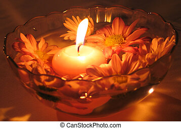 Flower Candles - Candle with flowers