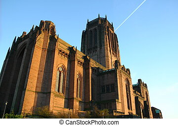 Church 3 - Liverpool Anglican Cathedral reaching for the...