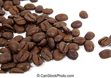 Coffee Beans 2 - Coffee Beans on White Background