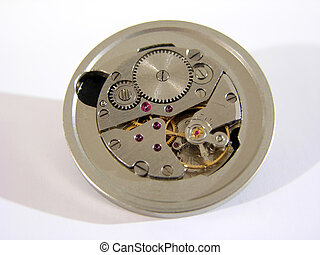 Clock mechanism - Old hand-wear clock mechanism