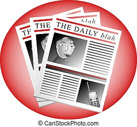 The Daily Blah - The daily blah newspapers