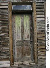 Green Door - What's that lurking behind the green door?...
