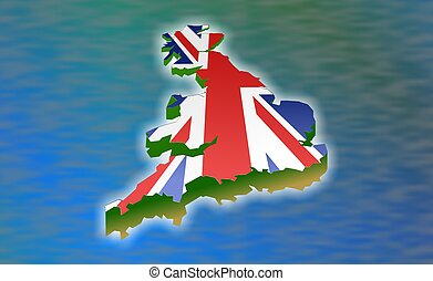 Great Britain illustration.