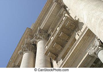 romano, architettura