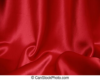 Red satin background - Rich red satin. Valentine background