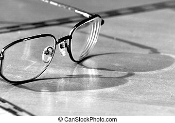Eye Glasses - Glasses on a table