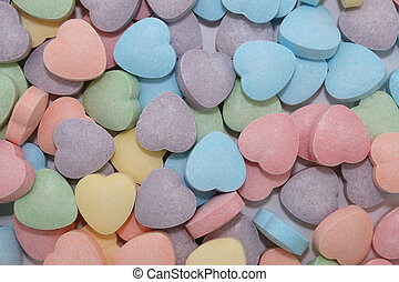 Candy Heart Background 82mp Image - b82mp Imageb Colorful...
