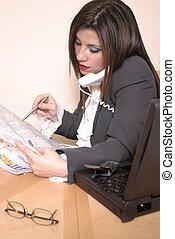 Career Move - Circling jobs and making calls