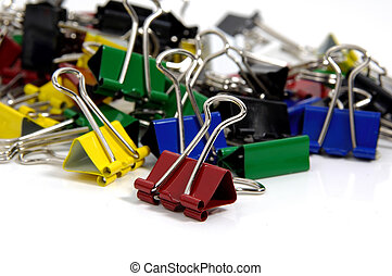 Color Paperclips - Photo of Color Paperclips