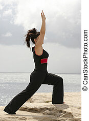 Lunge - warm up, stretch, tone, pilates, etc