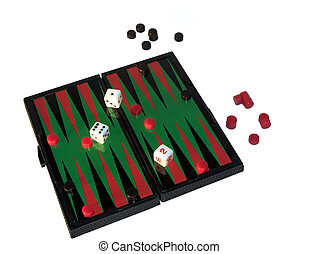 Backgammon - Isolated game board