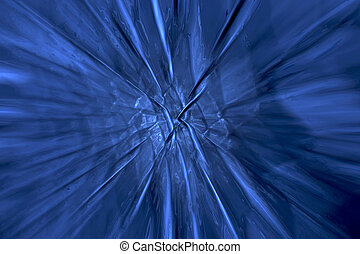 Crossroads - A computer rendering of a blue background Has...