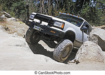 Off-road vehicle - off-roading in southern california