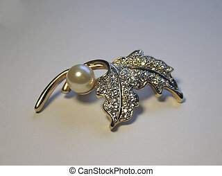 Brooch - Decorative feminine brooch.