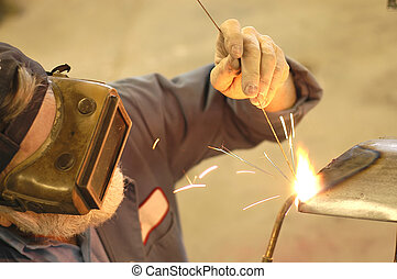 REQUEST Welding4 - stick welding